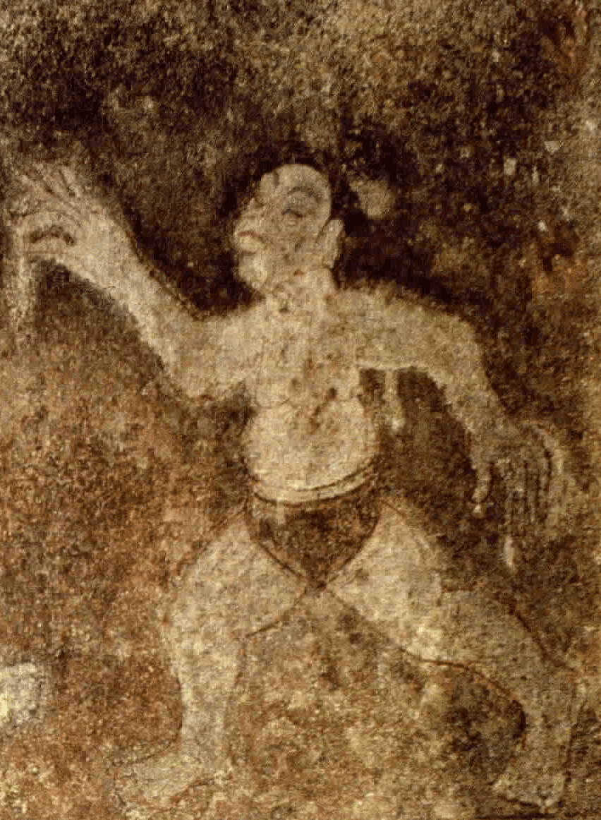 Ancient Korean Wall Painting 2